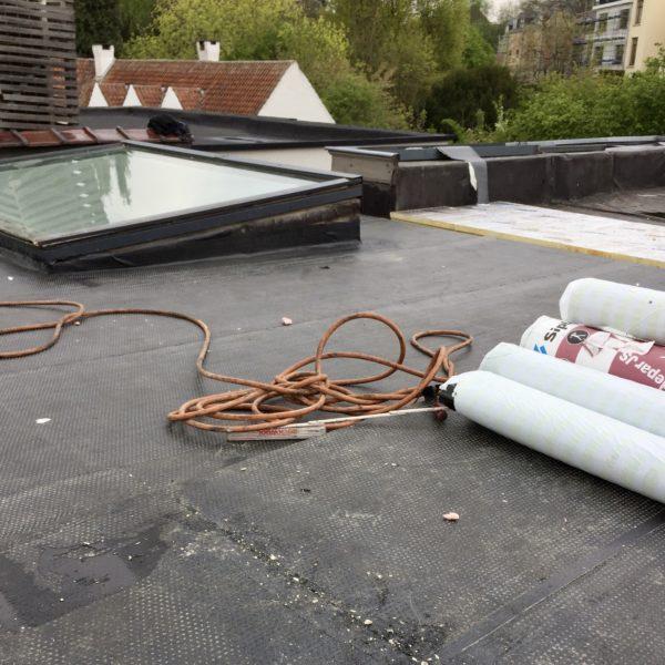 Balencourt Reparation toiture plateforme à Evere